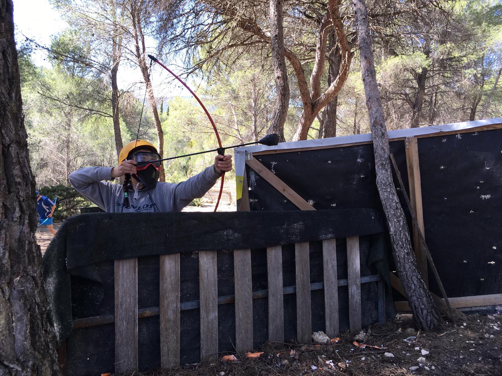 campamento tiro con arco entrepeñas